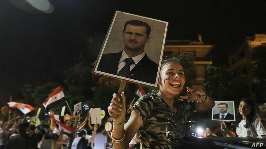 احتفالات بفوز الأسد