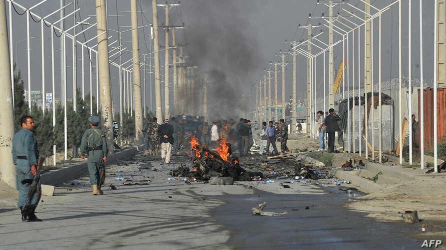 هجوم سابق في أفغانستان