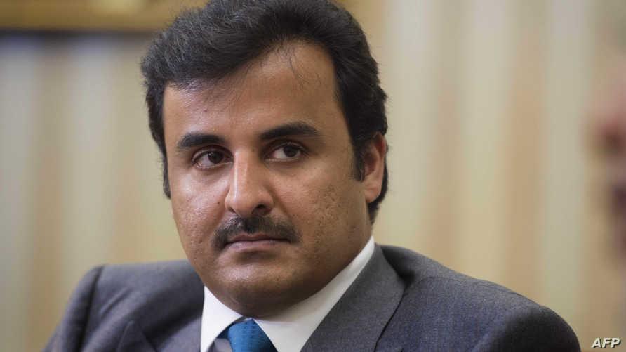 أمير دولة قطر الشيخ تميم بن حمد آل ثاني