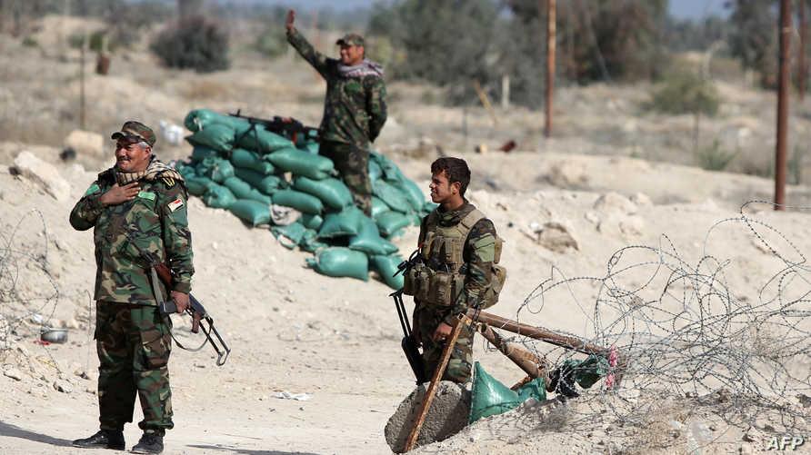 متطوعون لمحاربة داعش في الأنبار