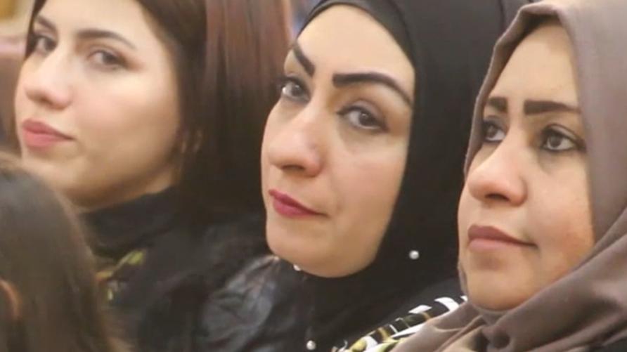 عراقيات يحيين يوم المرأة في الموصل