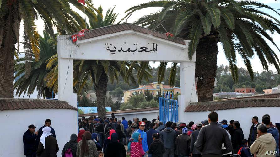 جانب من احتجاجات سابقة في تونس