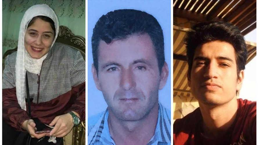 من اليمين إلى اليسار: نادر محمد/ناجي الفليطي/ شهد أحمد كمال