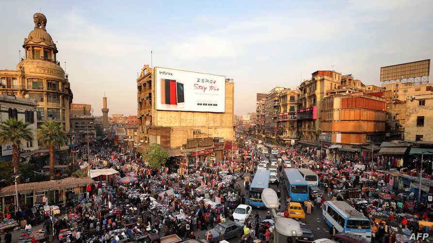 منطقة العتبة في وسط العاصمة المصرية