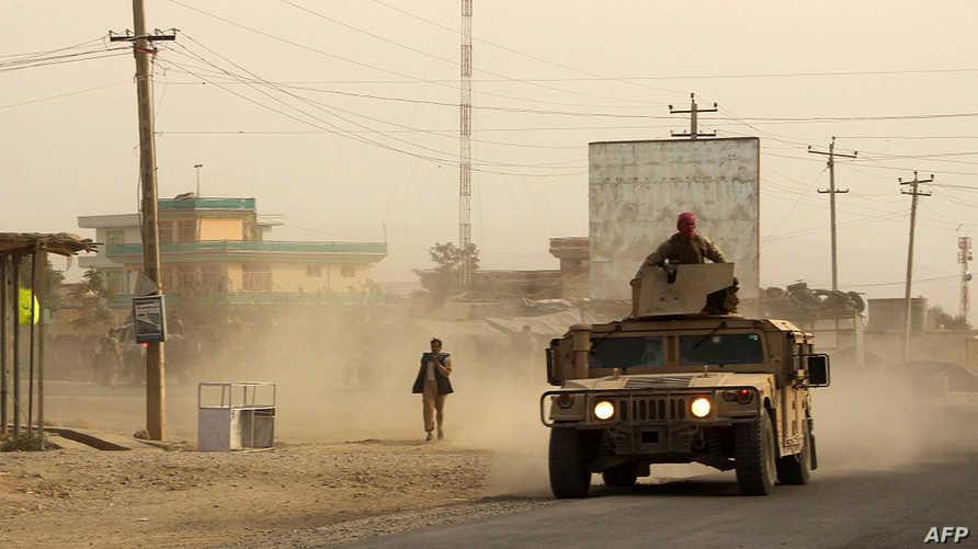 قوات أفغانية في مدينة قندوز
