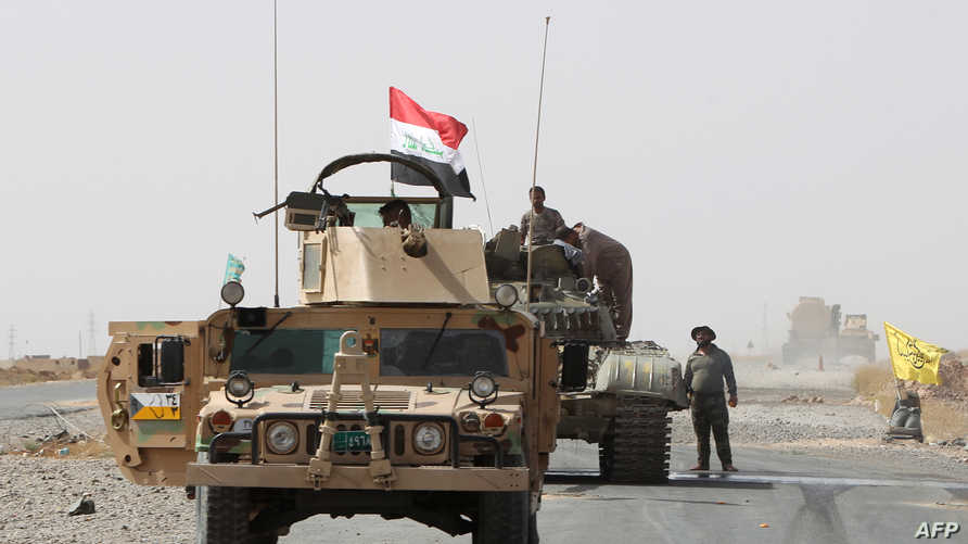 قوات عراقية في محيط منطقة بيجي شمال تكريت