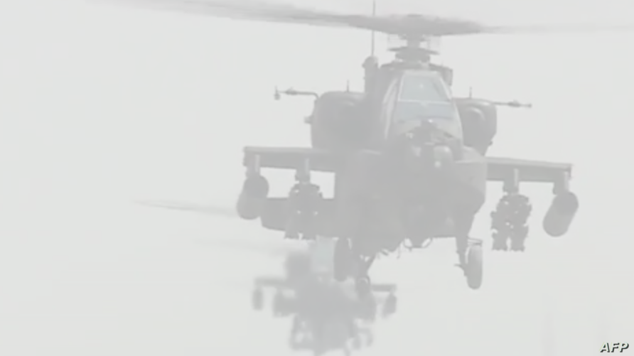 مروحيات متطورة تابعة للجيش المصري