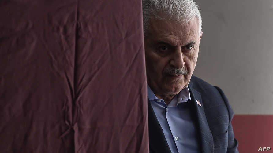 مرشح الحزب الحاكم في اسطنبول بن علي يلدريم