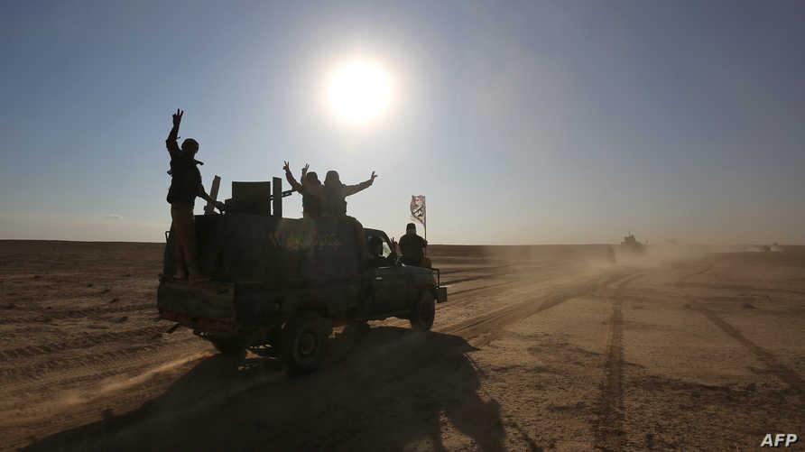 قوات عراقية في الصحراء الغربية