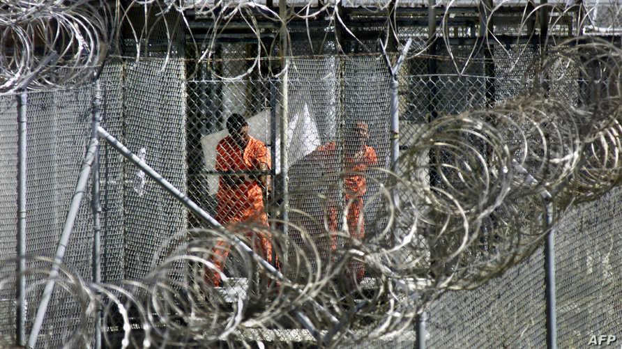 سجناء في معتقل غوانتانامو