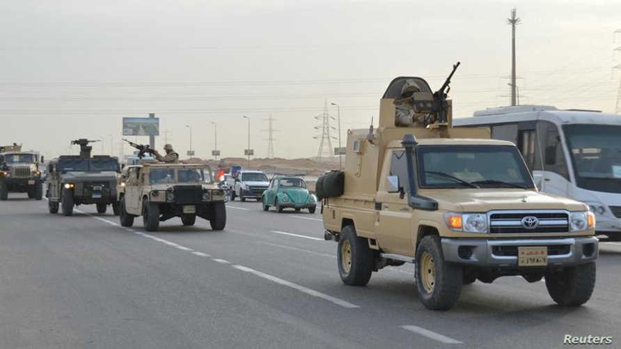 قوات عسكرية مصرية في سيناء