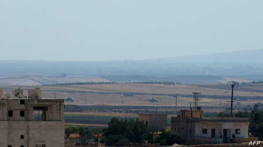 مطار تفتناز العسكري في إدلب