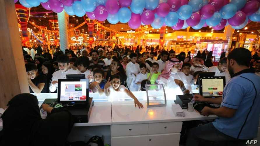 أحد مراكز التسوق في الرياض