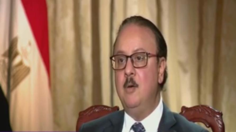 وزير الاتصالات وتكنولوجيا المعلومات المصري ياسر القاضي