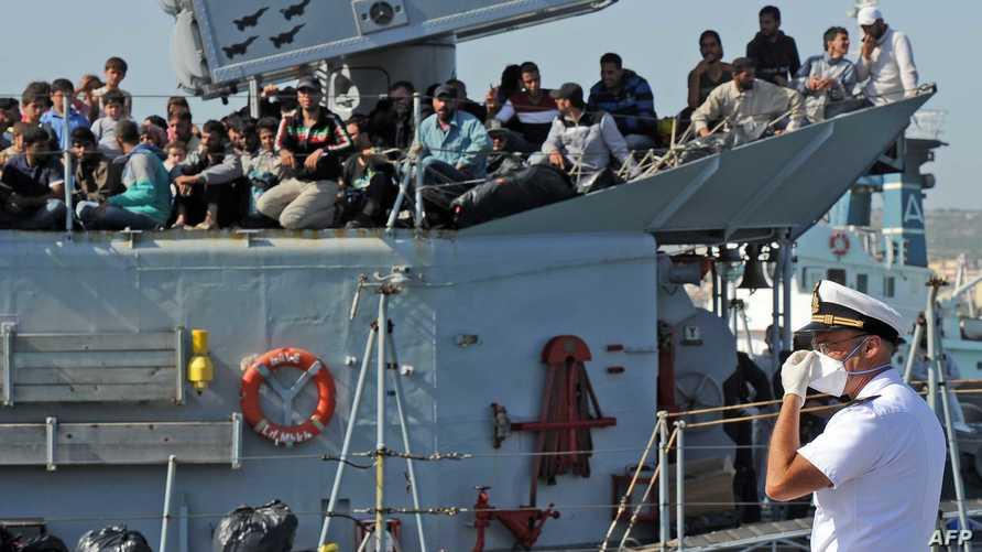 نازحون أفارقة في السواحل الايطالية