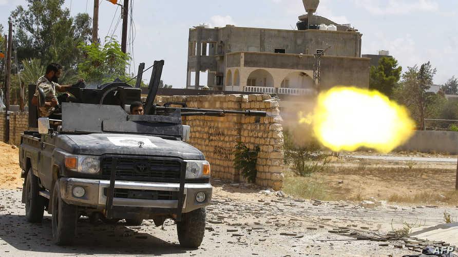 الحرب في العاصمة الليبية طرابلس - أرشيف