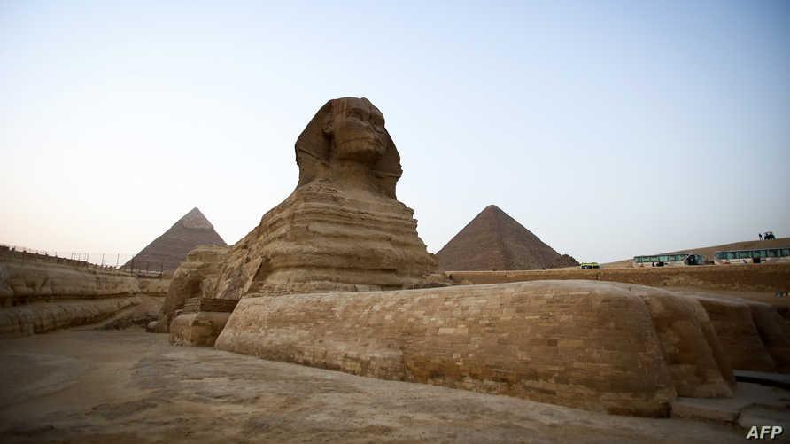 تمثال ابو الهول المصري
