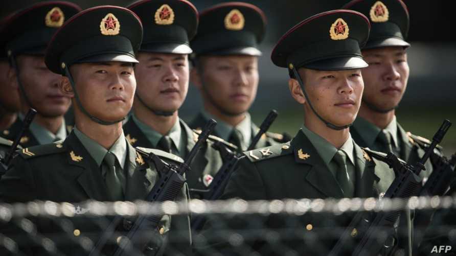 أفراد من الجيش الصيني