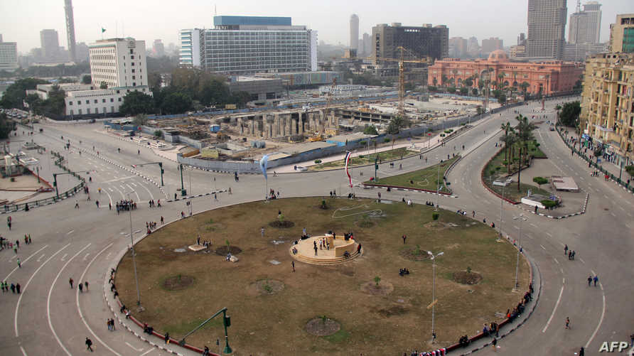 ميدان التحرير في القاهرة-أرشيف