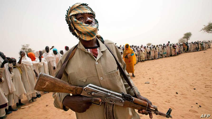 مسلح في إقليم دارفور - أرشيف