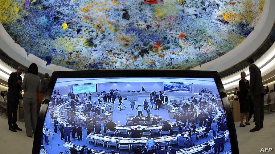 مجلس حقوق الإنسان في الأمم المتحدة في جنيف