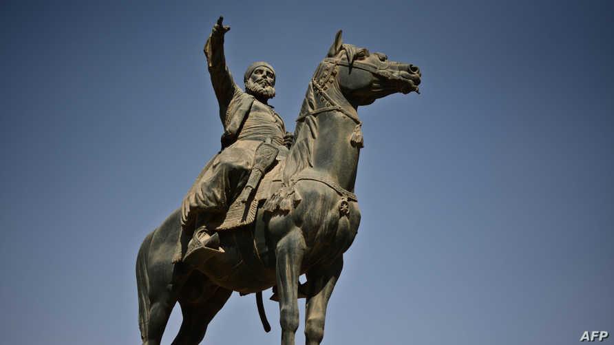تمثال لابراهيم باشا في القاهرة