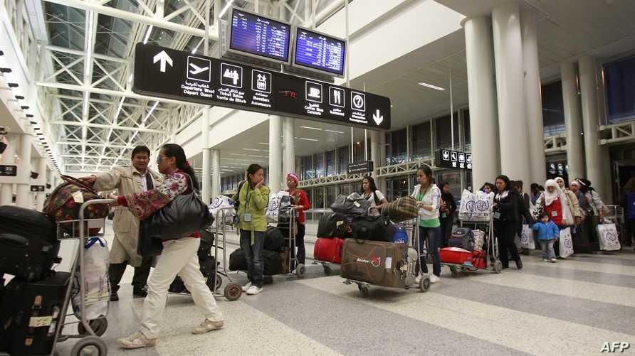 مطار بيروت الدولي -أرشيف