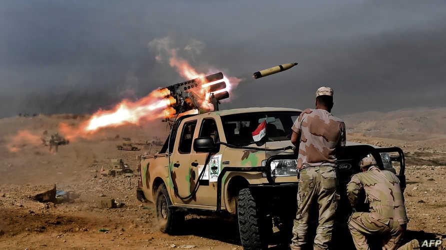 قوات عراقية مشاركة في عملية الموصل
