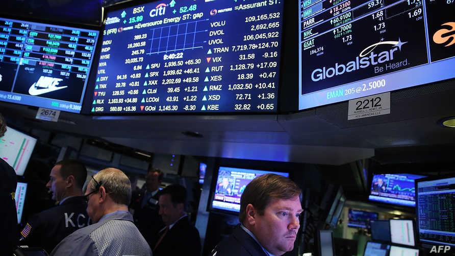بورصة وول ستريت للأوراق المالية-أرشيف