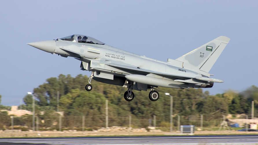 طائرة حربية سعودية