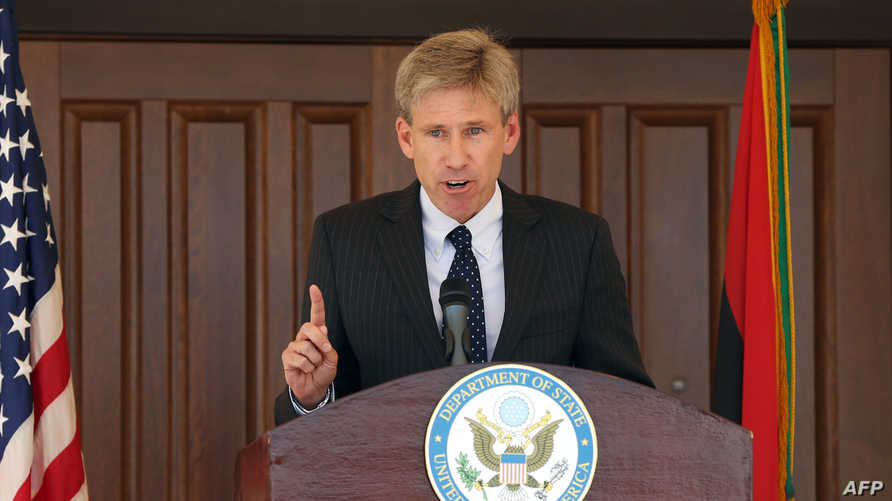 السفير الأميركي الراحل كريستوفر ستيفنز