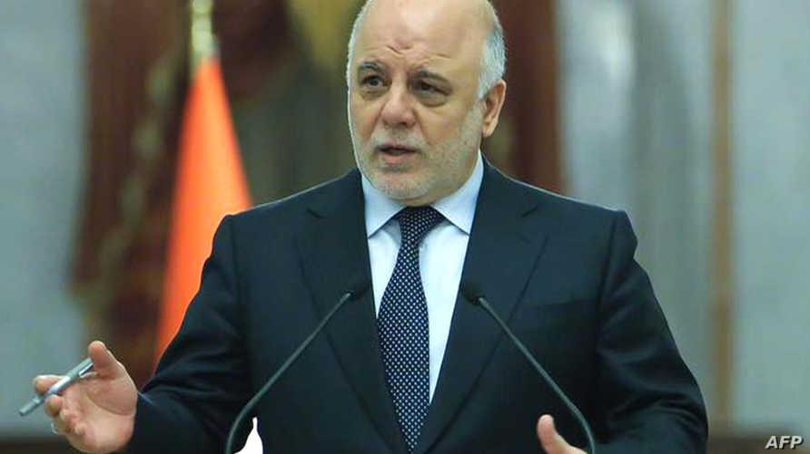 رئيس الحكومة العراقية حيدر العبادي - أرشيف