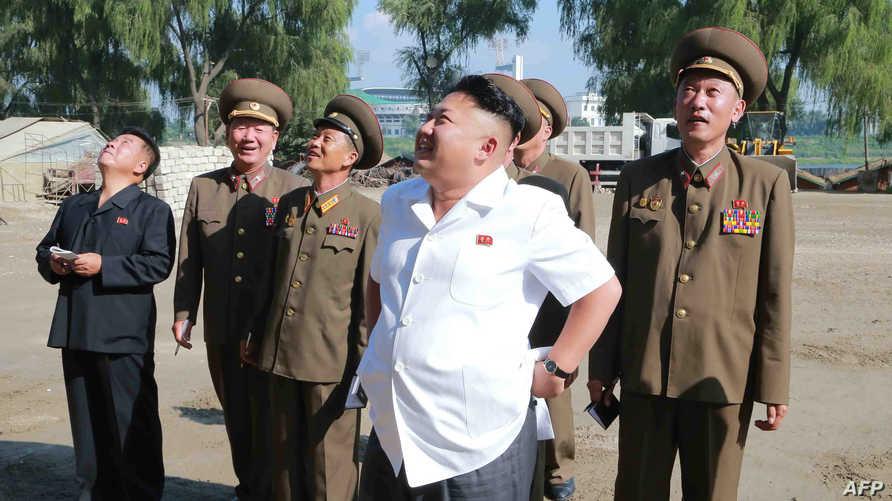 زعيم كوريا الشمالية كيم جونغ-أون. أرشيف