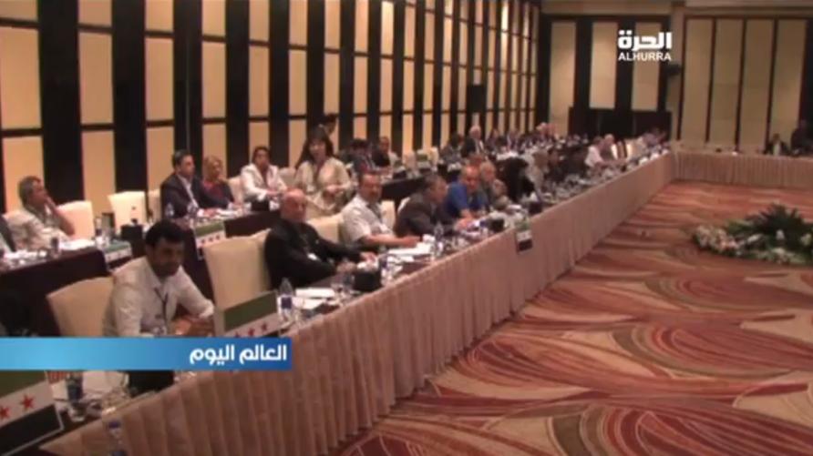 اجتماع لفصائل المعارضة السورية في القاهرة