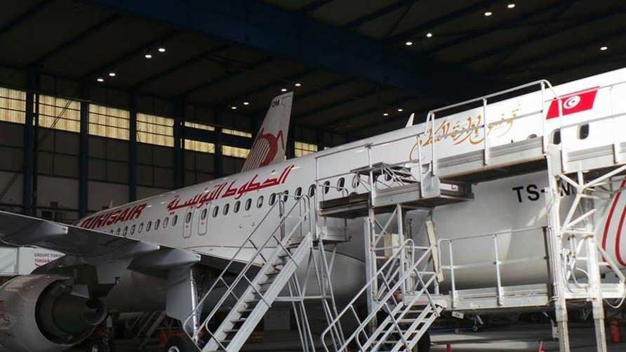 طائرة تابعة للخطوط التونسية