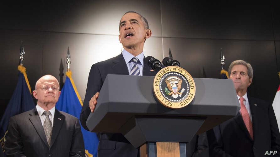 الرئيس باراك أوباما في الكلمة التي ألقاها حول جهود مكافحة الإرهاب