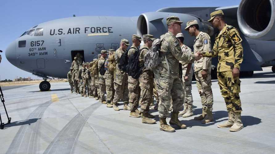 صورة من حساب المتحدث باسم القوات المسلحة المصرية على فيسبوك