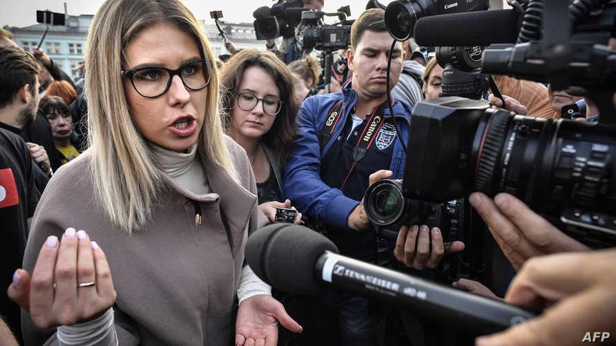 """المحامية بمؤسسة """"ضد الفساد"""" لويبوف سوبول"""