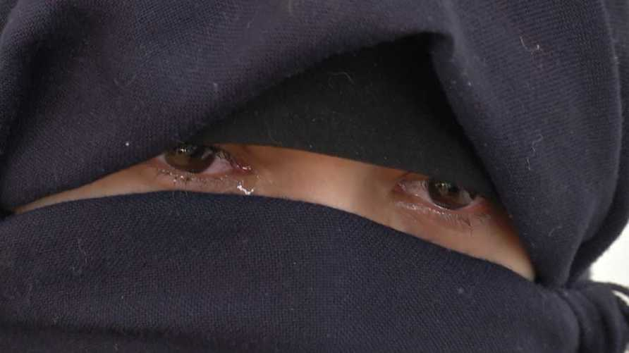 إحدى نساء داعش- الصورة مأخوذة من صفحة ناهد زرواطي