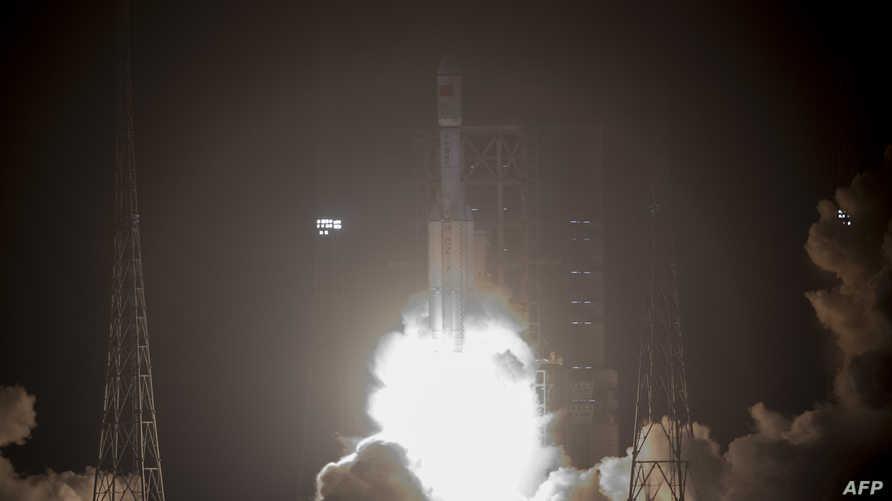 أطلقت بكين أول مركبة فضاء للشحن في نيسان/أبريل