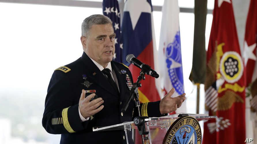 رئيس أركان الجيش الأميركي مارك ملي