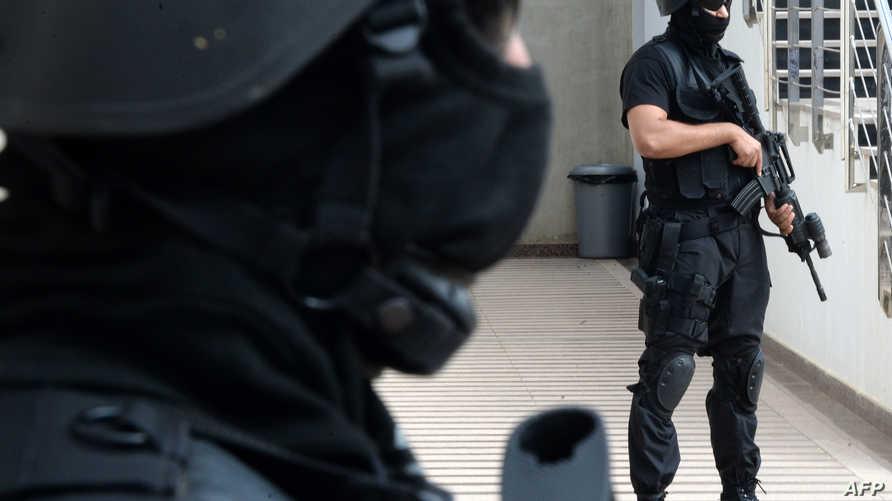 عنصران في القوات الخاصة المغربية
