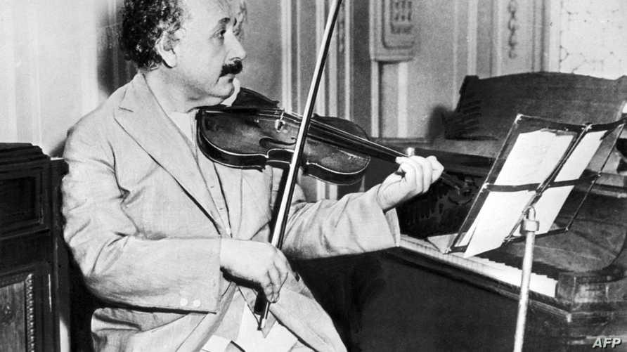 صورة لألبرت آينشتاين تعود إلى عام 1931