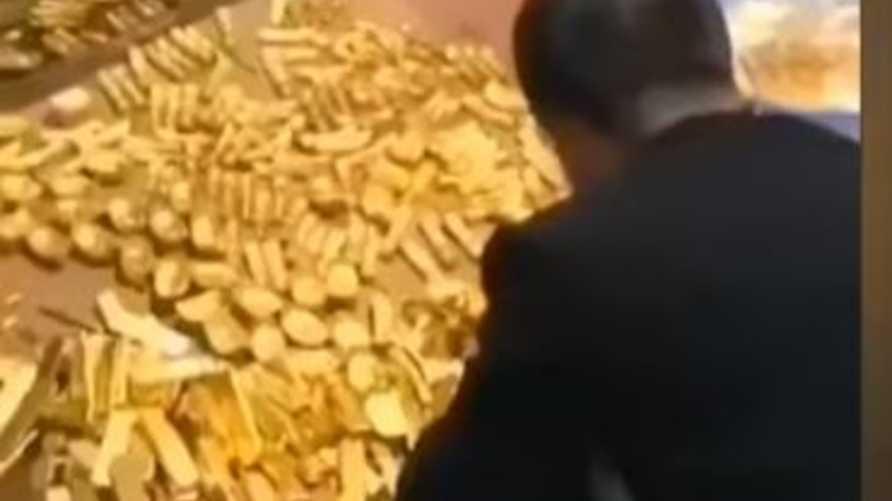 العثور على سبائك ذهبية في منزل مسؤول سابق في الحزب الشيوعي الصيني