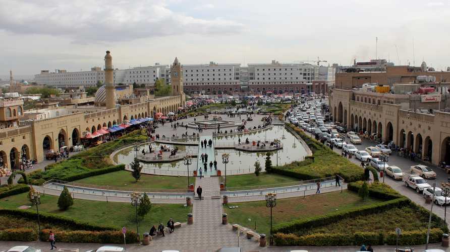 حديقة المدينة وسط مدينة أربيل/إرفع صوتك