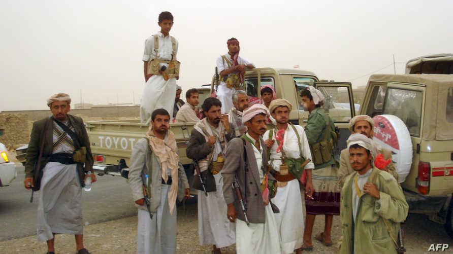 مقاتلون حوثيون في شمال غرب اليمن، أرشيف