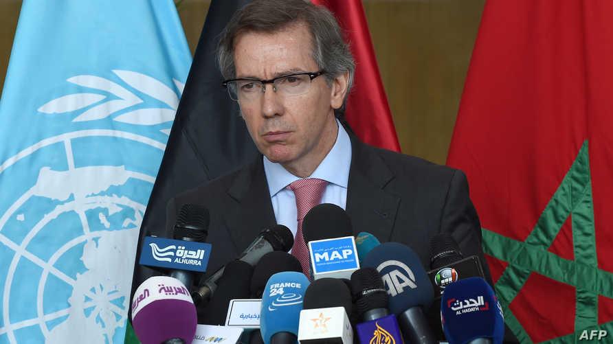 مبعوث الأمم المتحدة لدى ليبيا برناردينو ليون