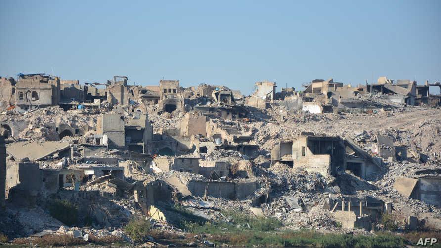 """المدينة القديمة في الموصل بعد تحريرها من """"داعش"""""""