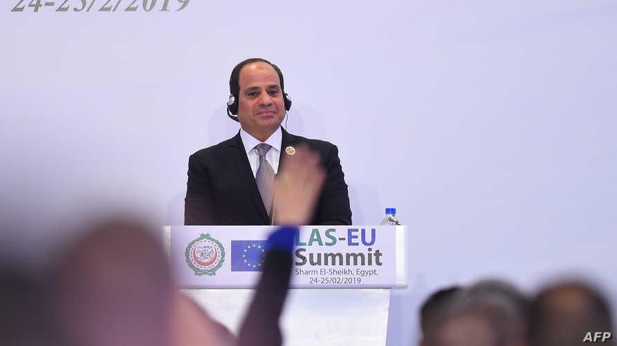 أولويات القاهرة منذ اليوم الأول لمجيء السيسي للسلطة، كانت وما زالت تتمحور حول مواجهة خطر الإسلاميين الراديكاليين
