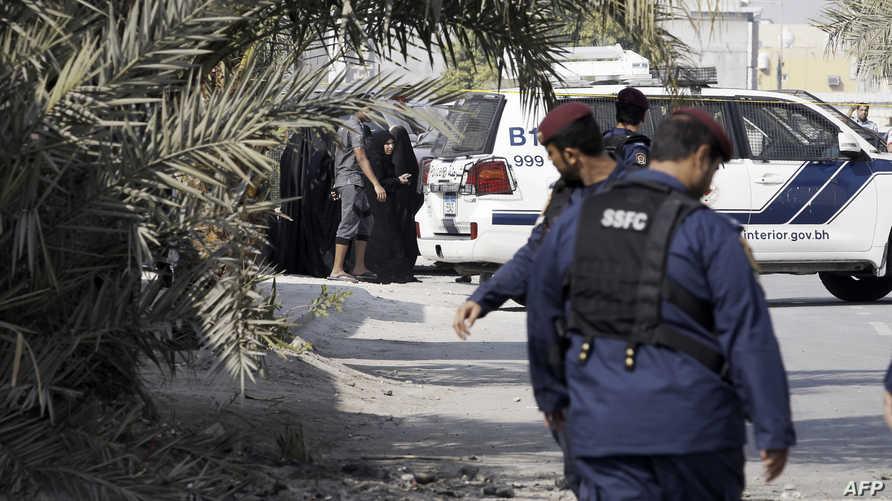 عناصر من الشرطة البحرينية